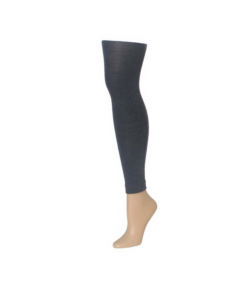 Cashmere Blend Footless Tights - MeMoi - 1