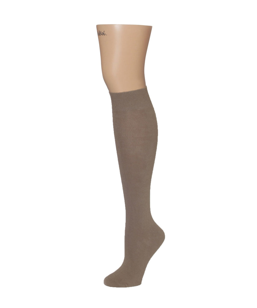 Natural Blend Bamboo Knee High - MeMoi - 1