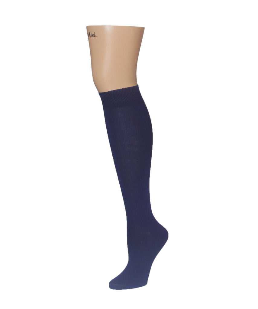 Natural Blend Bamboo Knee High - MeMoi - 6