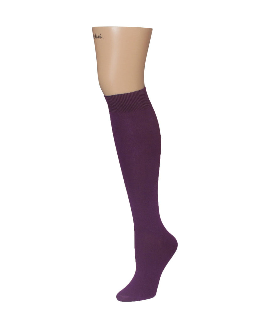 Natural Blend Bamboo Knee High - MeMoi - 8