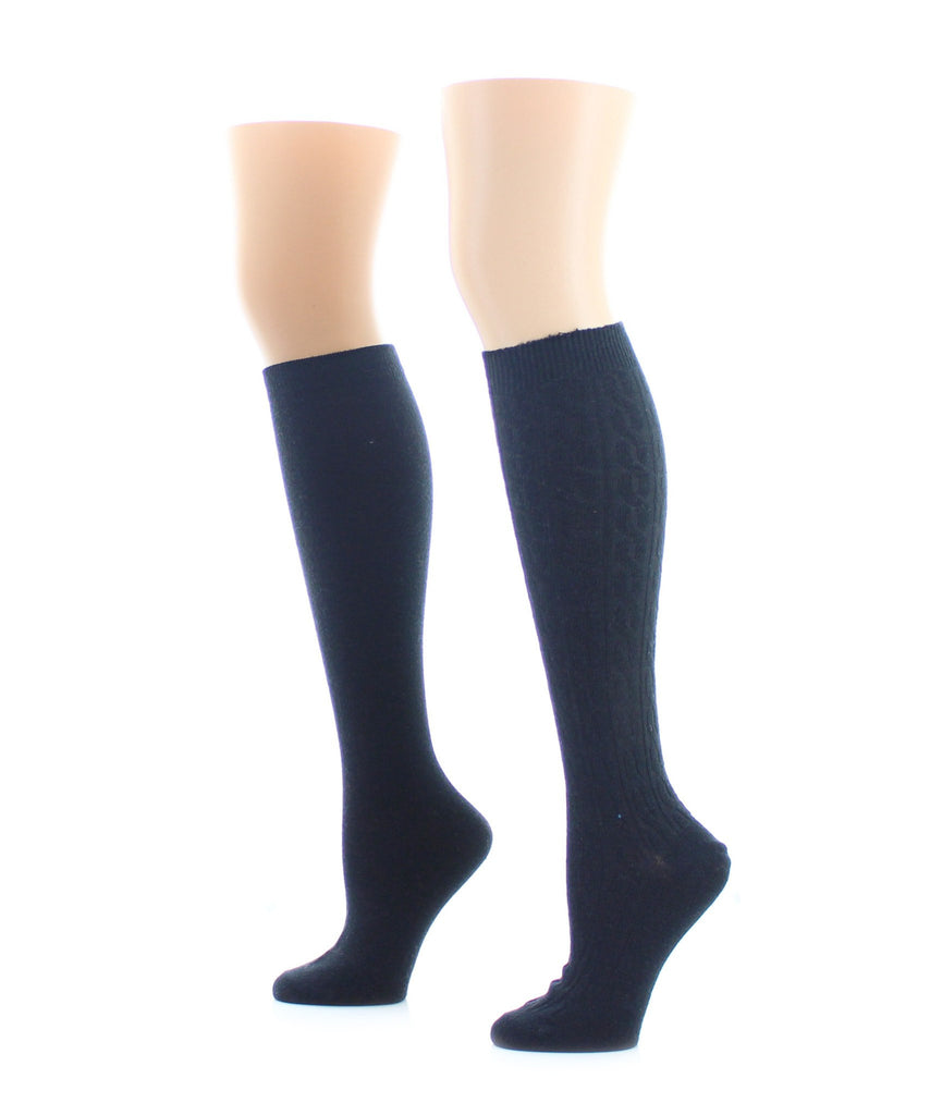Houndstone Cashmere Blend Knee High - MeMoi - 2