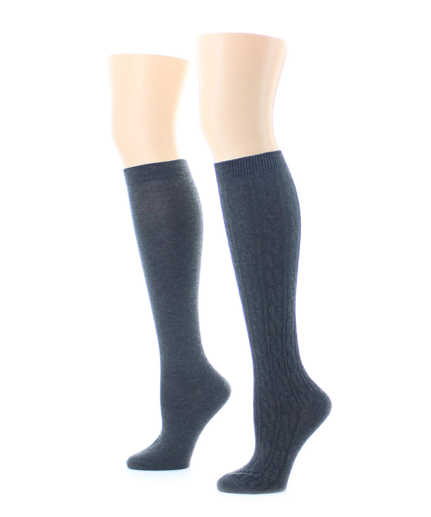 Houndstone Cashmere Blend Knee High - MeMoi - 1
