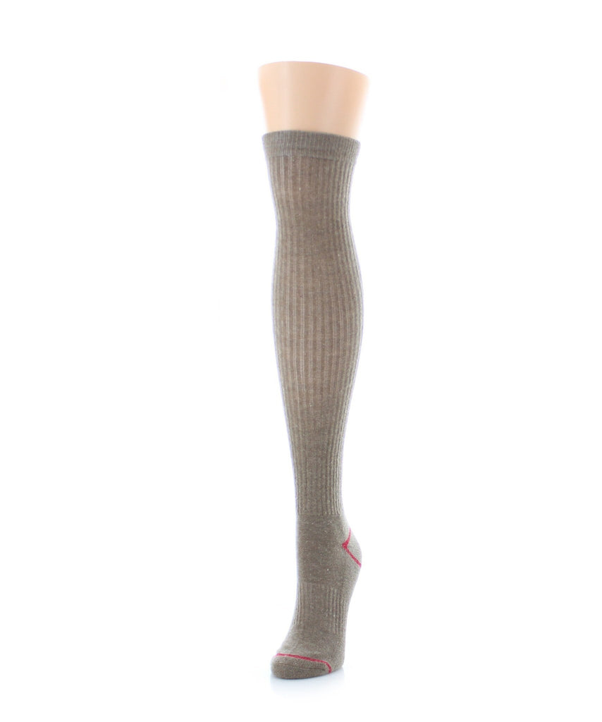 Vertical Basics Wool Half Cushioned Knee High - MeMoi - 1