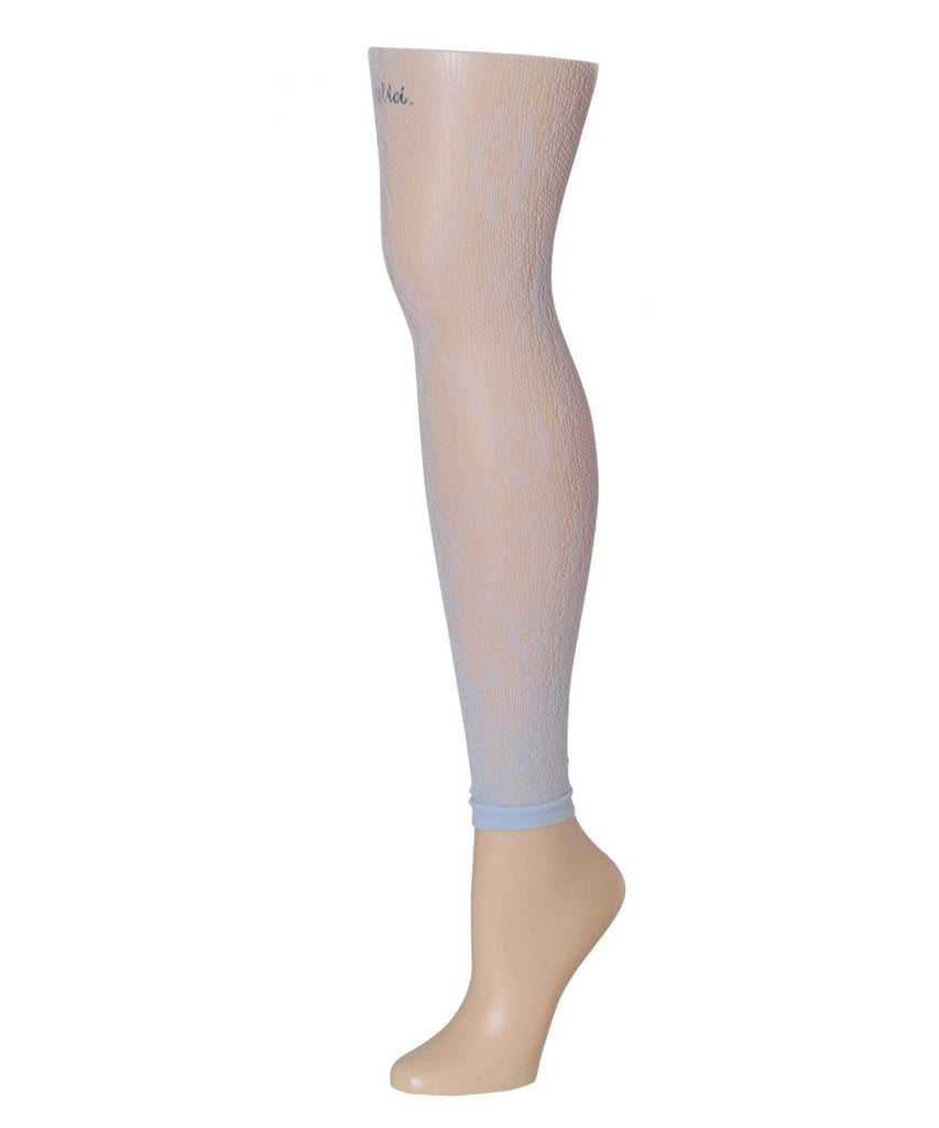 Romantic Lace Footless Tights - MeMoi - 3