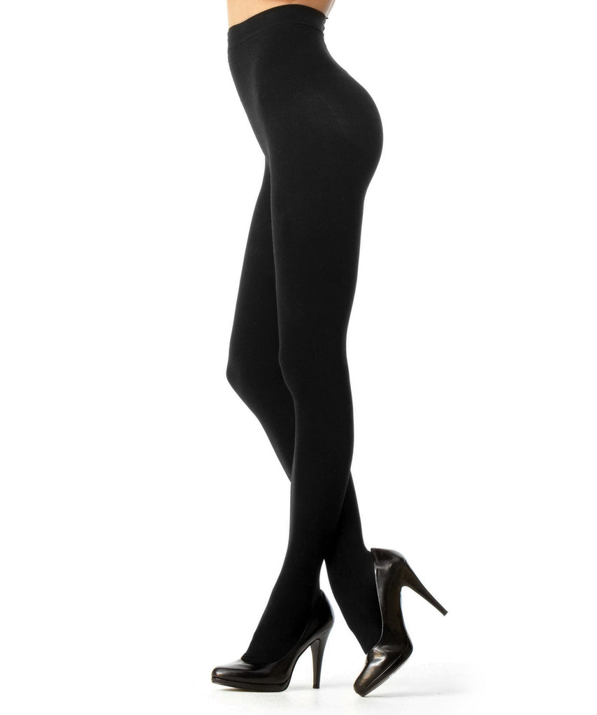 Perfectly Opaque Longline Shaper Tights - MeMoi - 2
