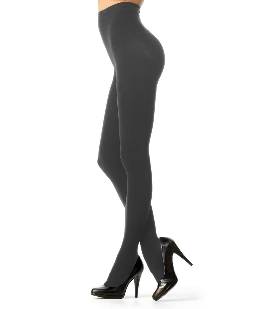Perfectly Opaque Longline Shaper Tights - MeMoi - 3