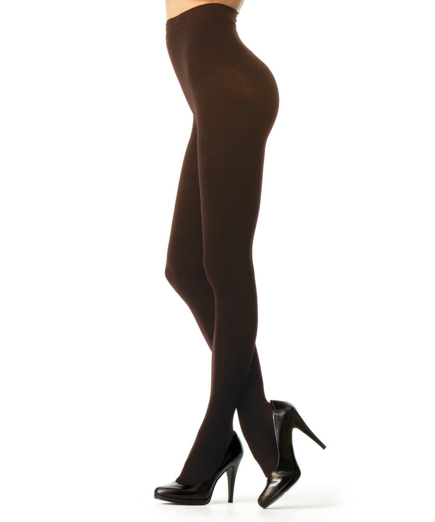 Perfectly Opaque Longline Shaper Tights - MeMoi - 1