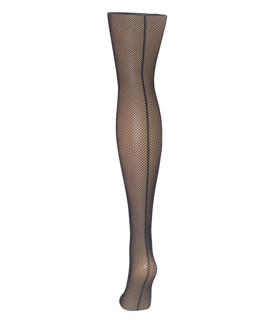 Jazzy Back Seam Fishnet Tights - MeMoi - 2