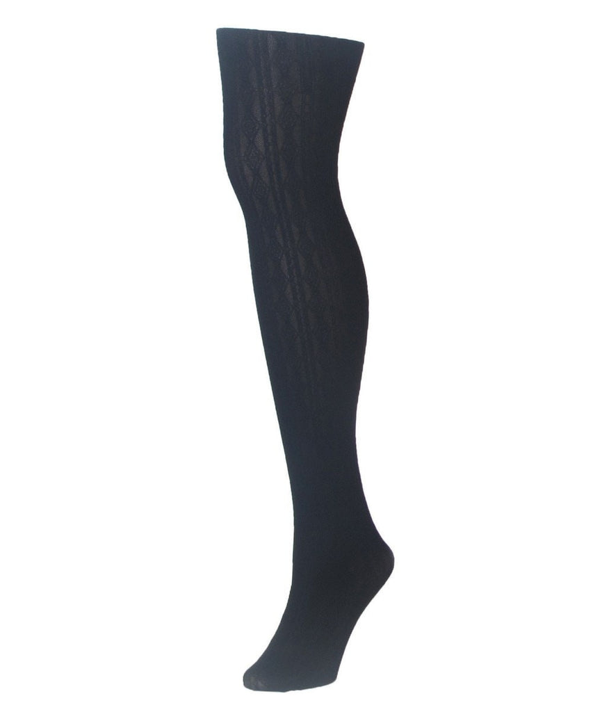 Diamonds Link Control Top Tights - MeMoi