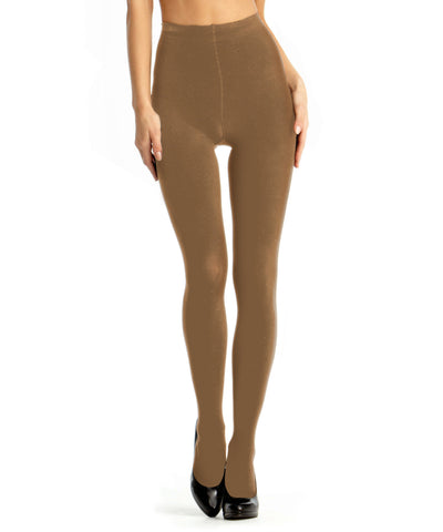 90 Denier Control Top Tights