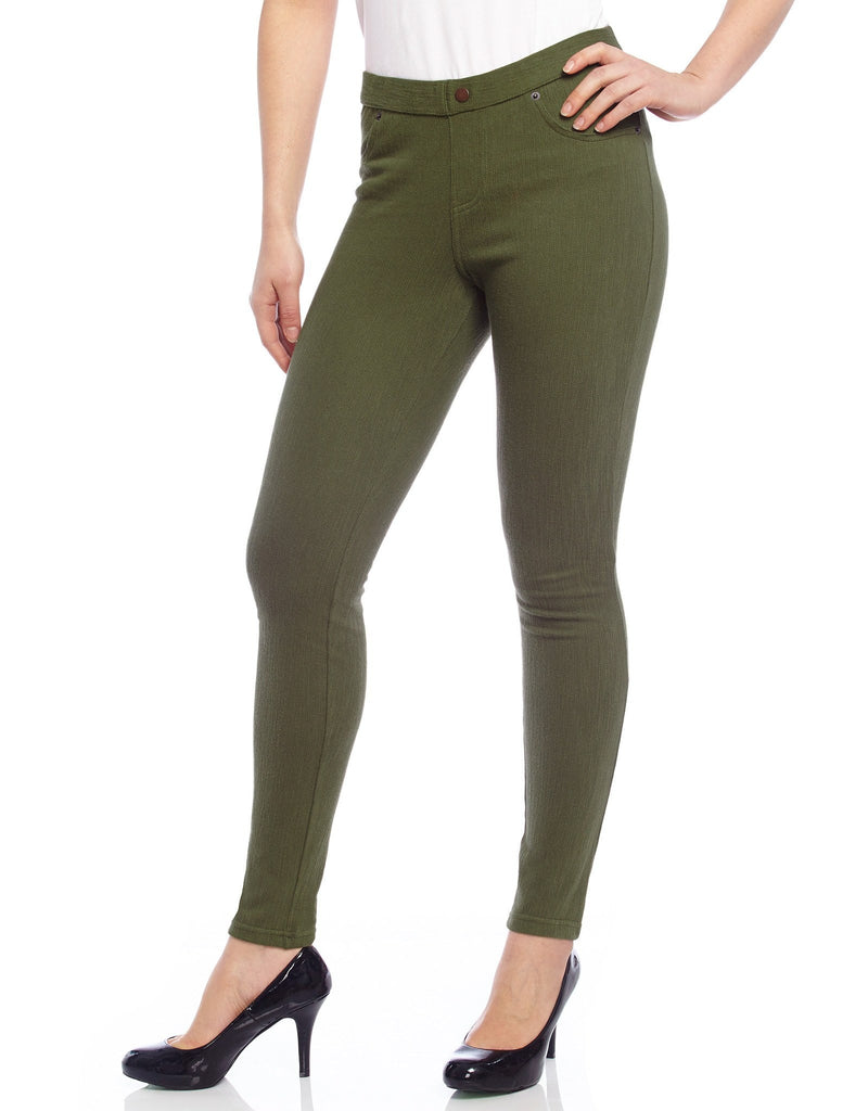 Chino All Colors Hidden Back Pocket Leggings - MeMoi - 3