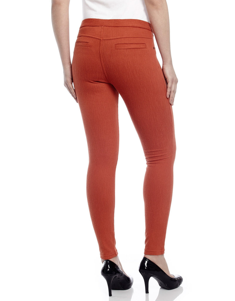 Chino All Colors Hidden Back Pocket Leggings - MeMoi - 1