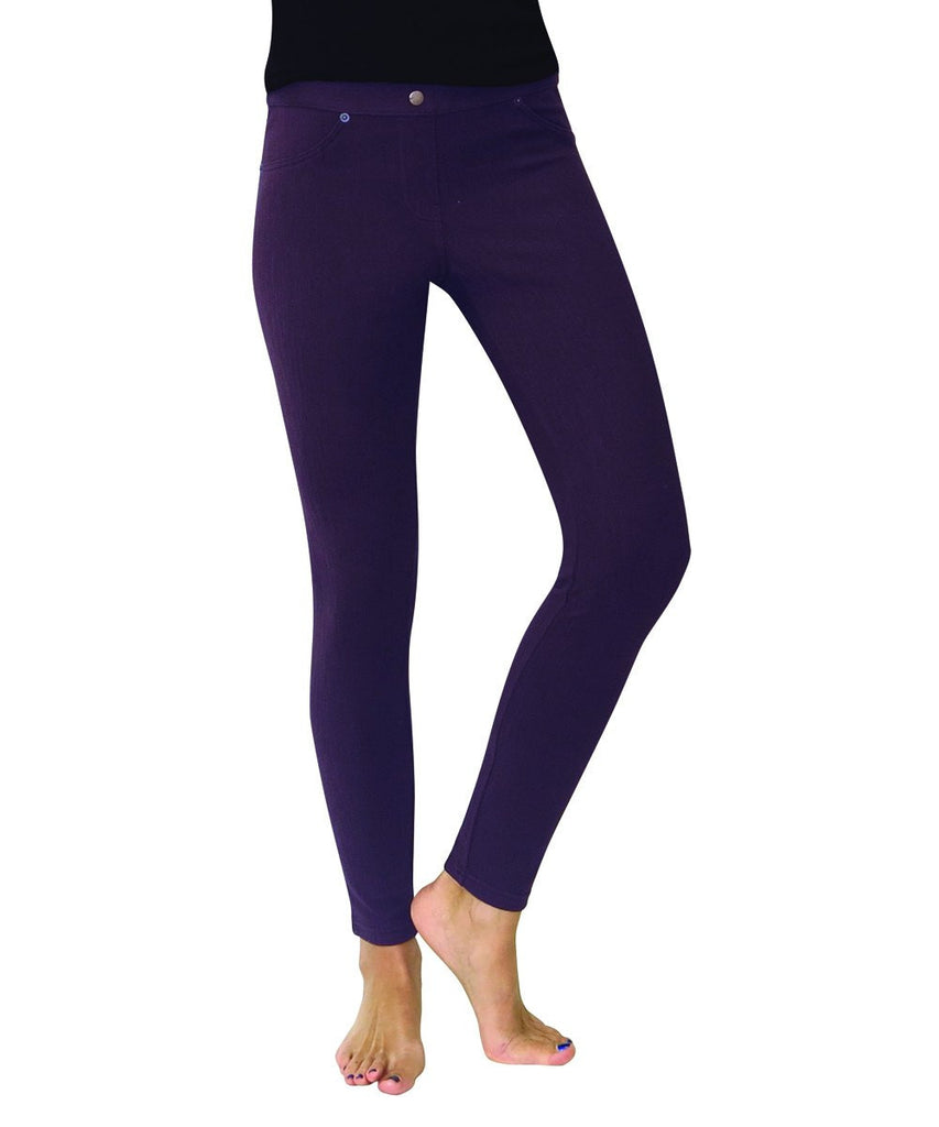 Chino All Colors Hidden Back Pocket Leggings - MeMoi - 2