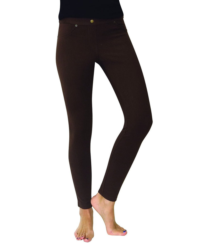 Chino All Colors Hidden Back Pocket Leggings - MeMoi - 12