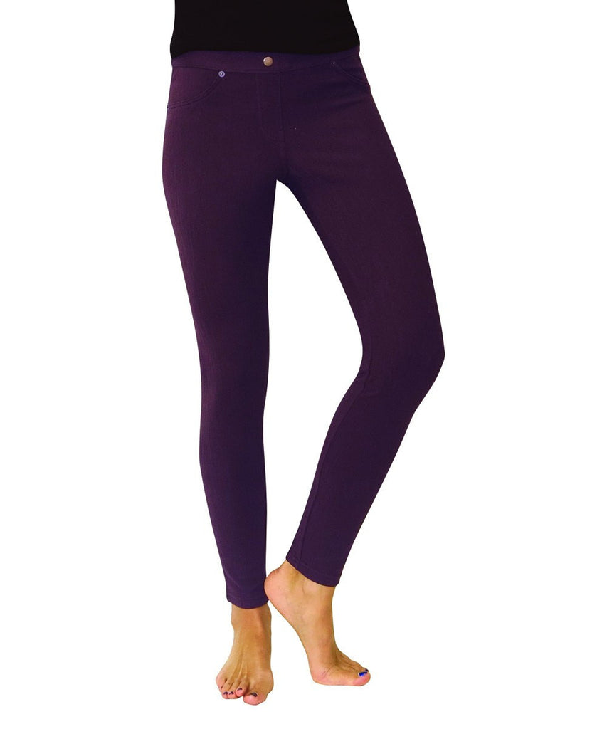 Chino All Colors Hidden Back Pocket Leggings - MeMoi - 13
