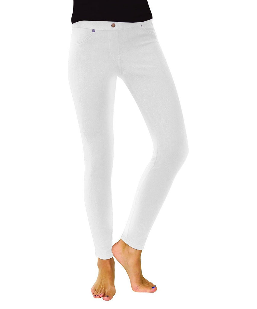 Chino All Colors Hidden Back Pocket Leggings - MeMoi - 16
