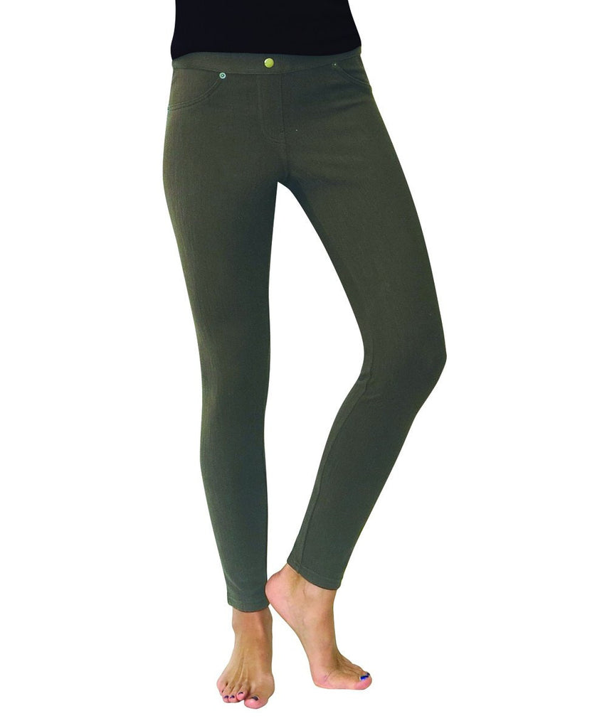 Chino All Colors Hidden Back Pocket Leggings - MeMoi - 10