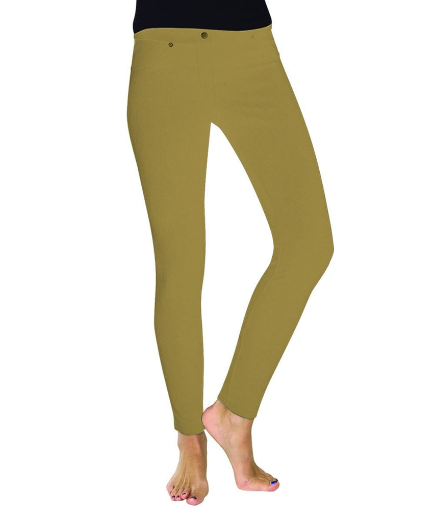 Chino All Colors Hidden Back Pocket Leggings - MeMoi - 17