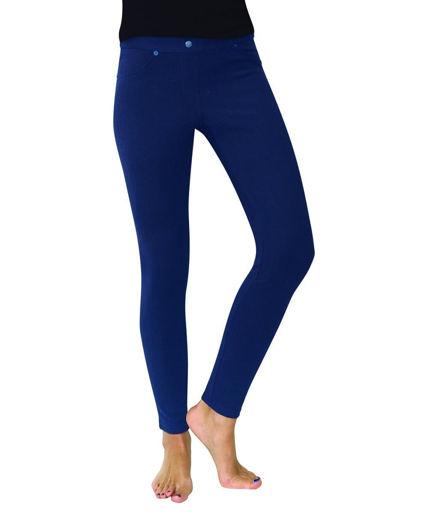 Chino All Colors Hidden Back Pocket Leggings - MeMoi - 4