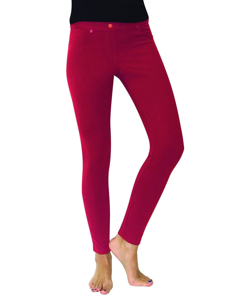 Chino All Colors Hidden Back Pocket Leggings - MeMoi - 5
