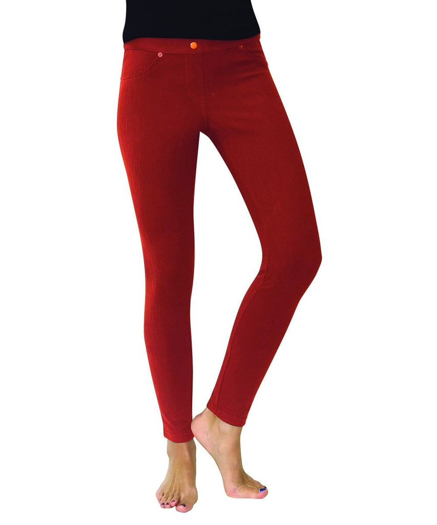 Chino All Colors Hidden Back Pocket Leggings - MeMoi - 11