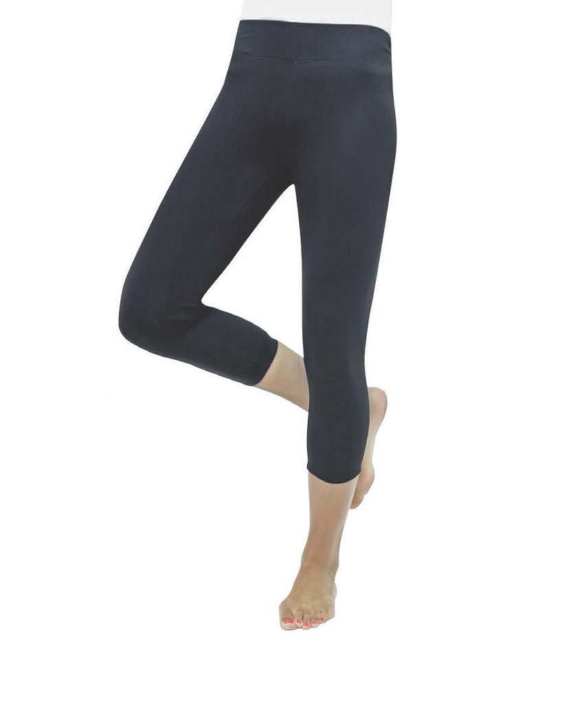 Premium Women's Cotton Capri Legging - MeMoi - 2