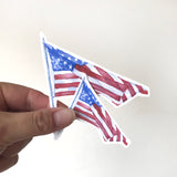 American Flag Vinyl Sticker