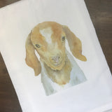 Nubian Goat Tea Towel