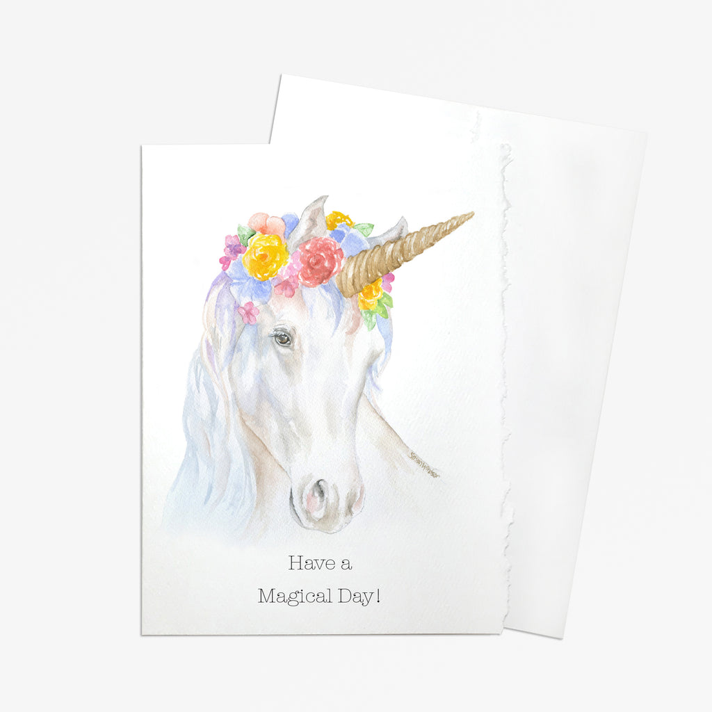 Have a Magical Day Unicorn Greeting Card
