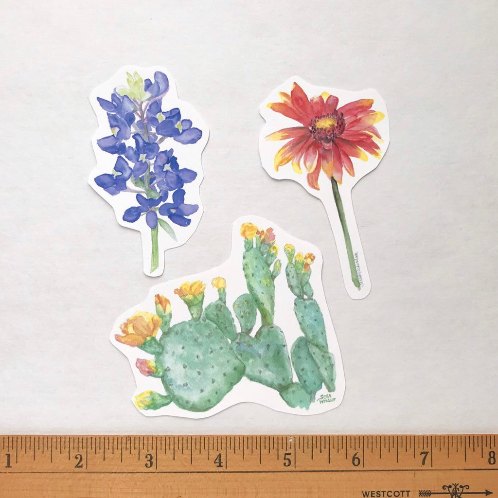 Wildflower Sticker Set