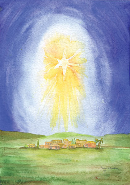 Christmas Cards Star Over Bethlehem Set of 10