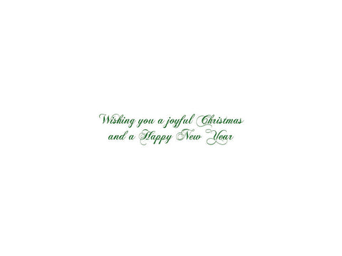 Christmas Ornaments Cards Set of 10