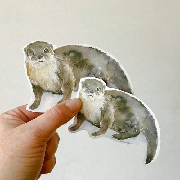 River Otter Sticker