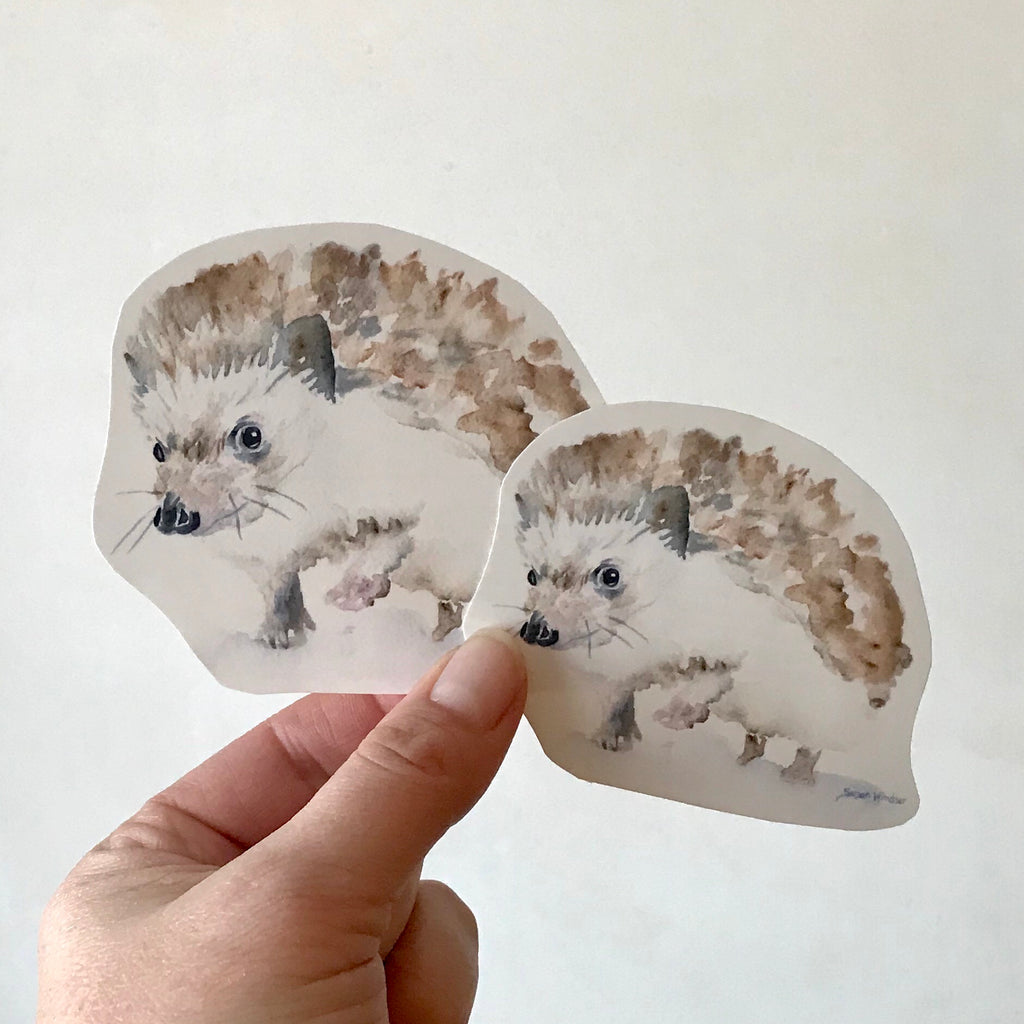 Hedgehog 1 Sticker