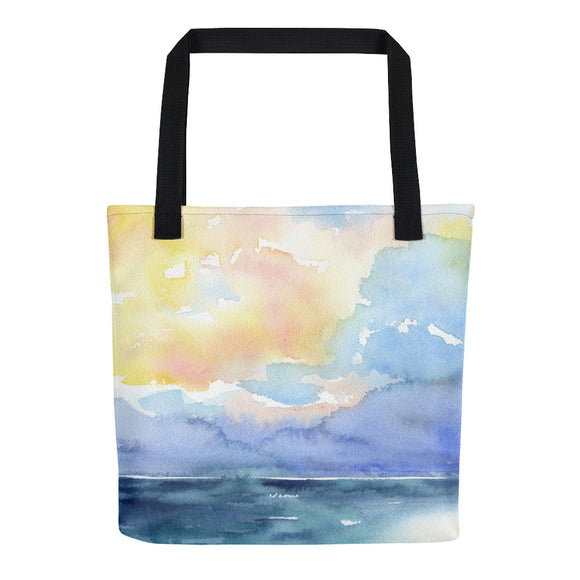 Colorful Ocean Tote Bag
