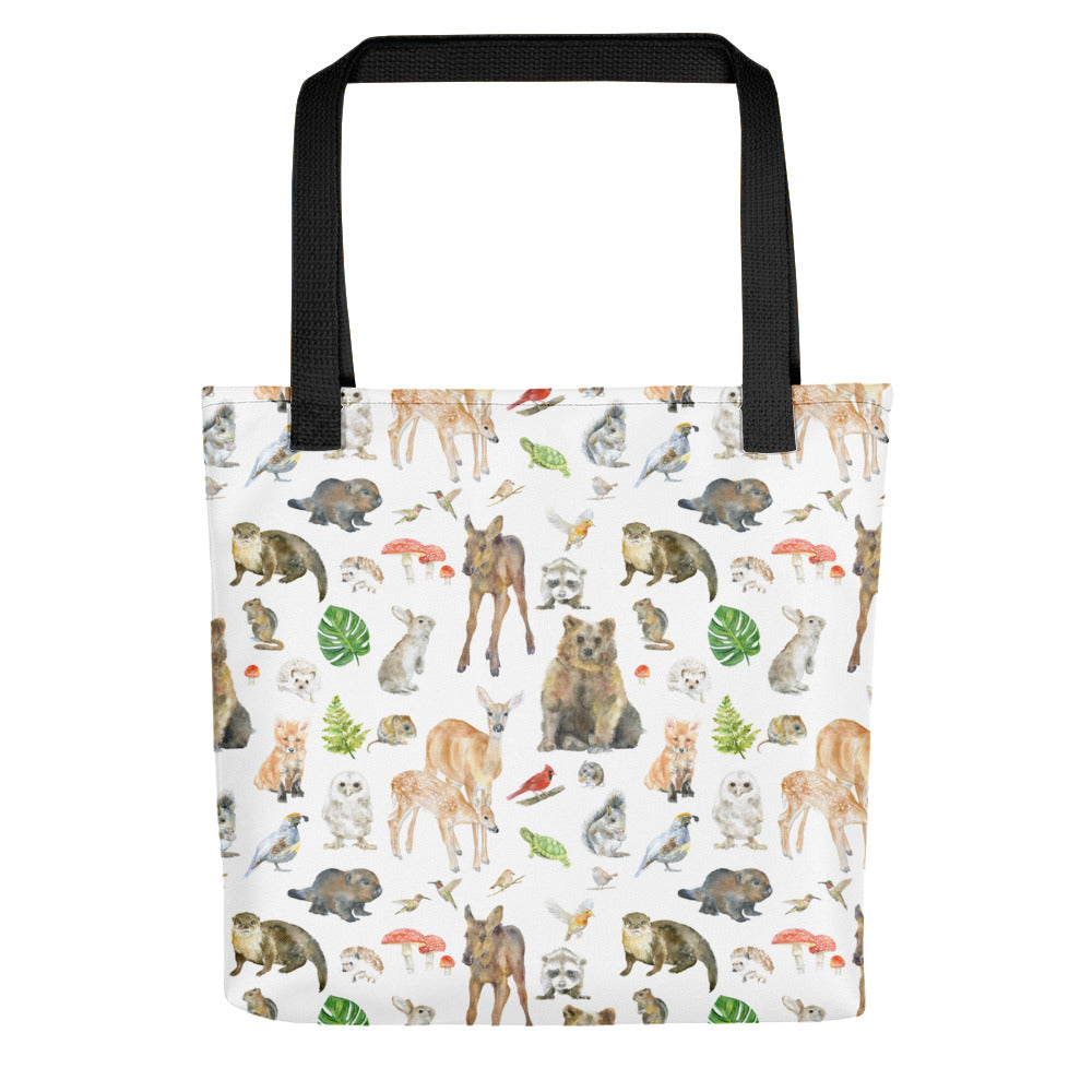 Woodland Animals Tote bag