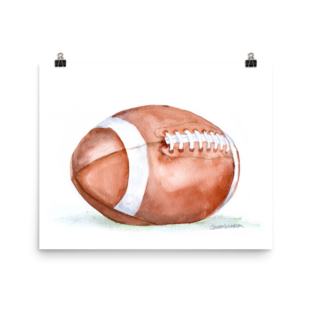 Football Watercolor