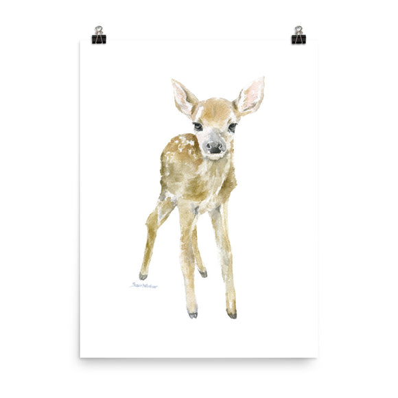 Deer Fawn Watercolor 2
