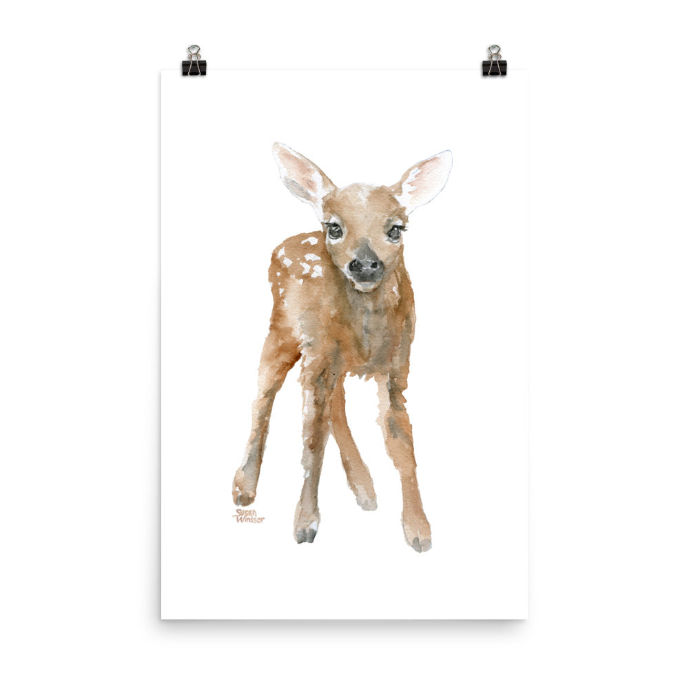 Deer Fawn 3 Watercolor