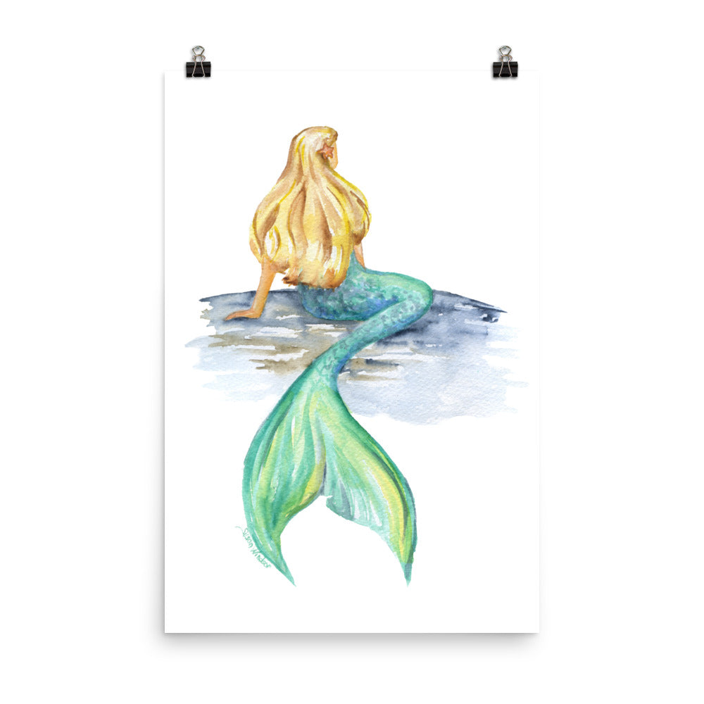 Mermaid Watercolor