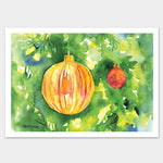 Ornaments Christmas Cards Set of 10