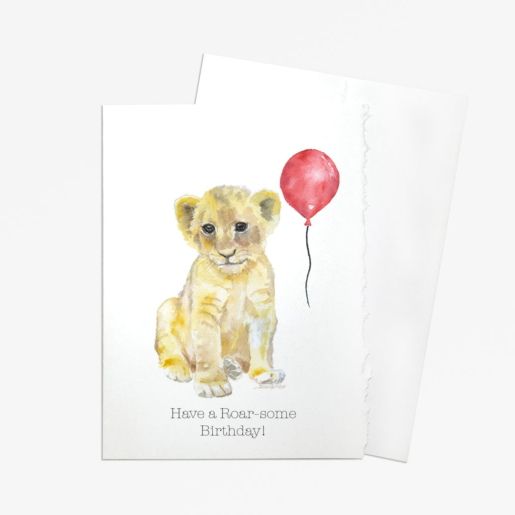 Have a Roar-some Birthday Greeting Card