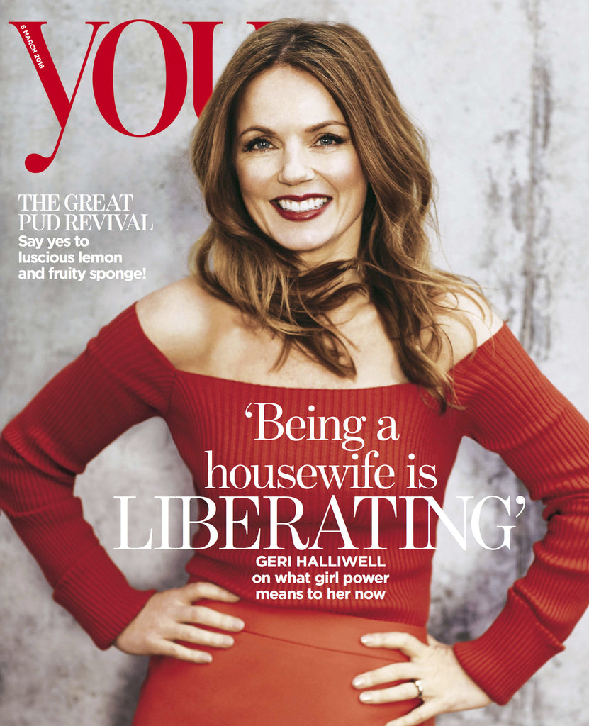 Geri Halliwell wears SS16 Hera Skirt in YOU Magazine