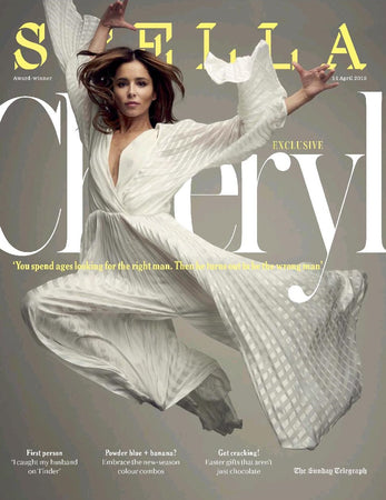 Stella Magazine features Cheryl in SS19 on their cover