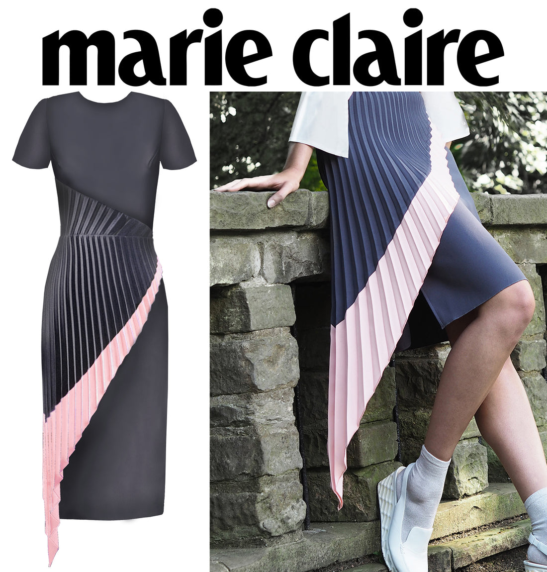 Marie Claire Features Resort18 Dahlia Dress