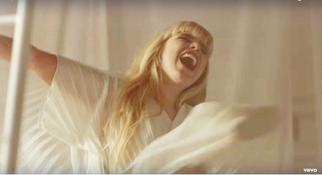 Paloma Faith wears Georgia Hardinge in Lullaby Music Video