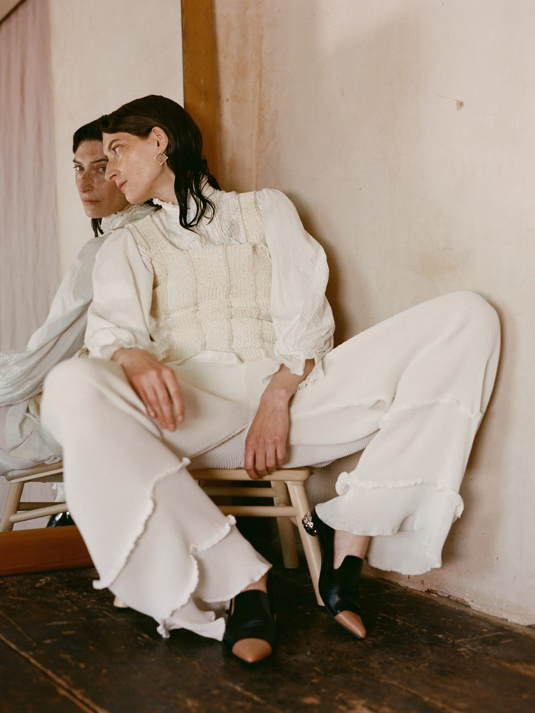 Also Journal feature Georgia Hardinge's AW19 Quartz Trouser
