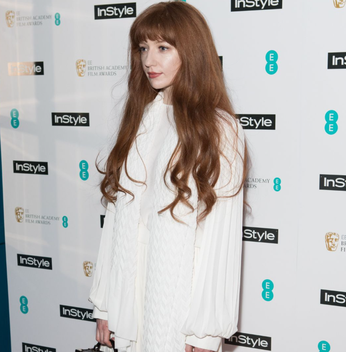 Nicola Roberts wears Georgia Hardinge to BAFTA InStyle Party