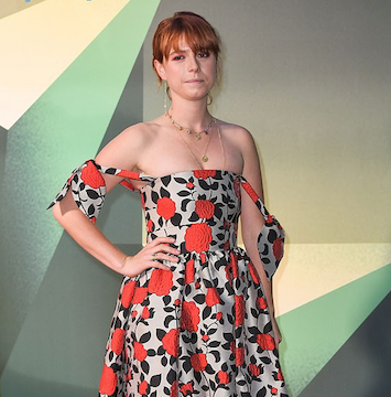 Jessie Buckley wears AW18 Willow Dress to BFI London Film Festival