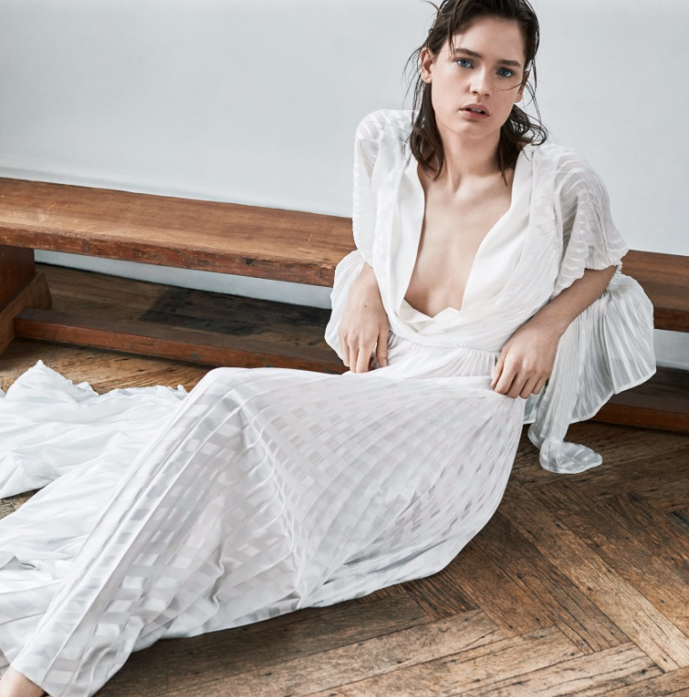 MAKE Magazine feature the SS19 Beam Wrap Top and Luminary Culotte
